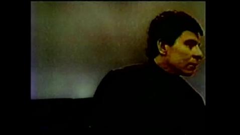"Thumbnail for entry Gallaudet Video Presents Joe Velez in ""JABBERWOCKY"""