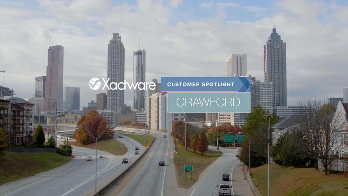 Crawford & Company reduces claim cycle time across entire organization using Xactware suite of tools