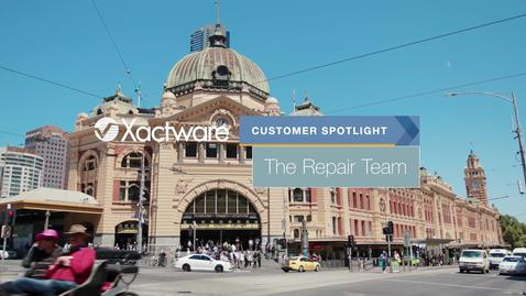 The Repair Team Uses Xactimate to Improve Customer Care in Australia