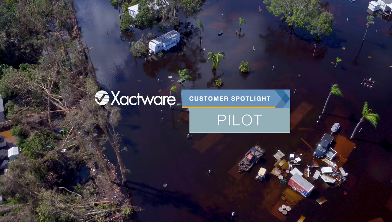 Pilot Catastrophe Services uses Xactware tools to handle flood claims.
