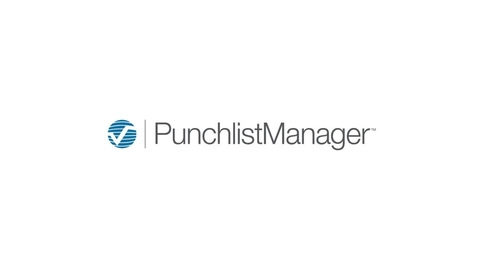 Punchlist Manager Software Overview