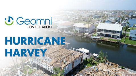Hurricane Harvey Aftermath, Rockport Texas — Geomni