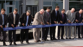 Thumbnail for entry Xactware Cuts Ribbon for New Headquarters