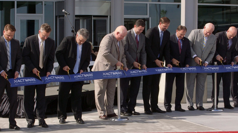 Xactware Cuts Ribbon for New Headquarters