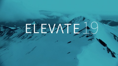 Elevate 2019 - Register Now