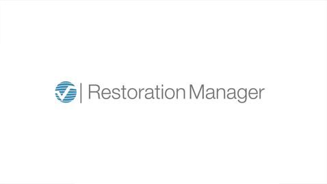 Restoration Manager Software Overview