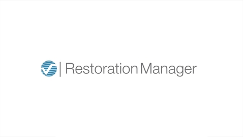 Restoration Manager Software Overview