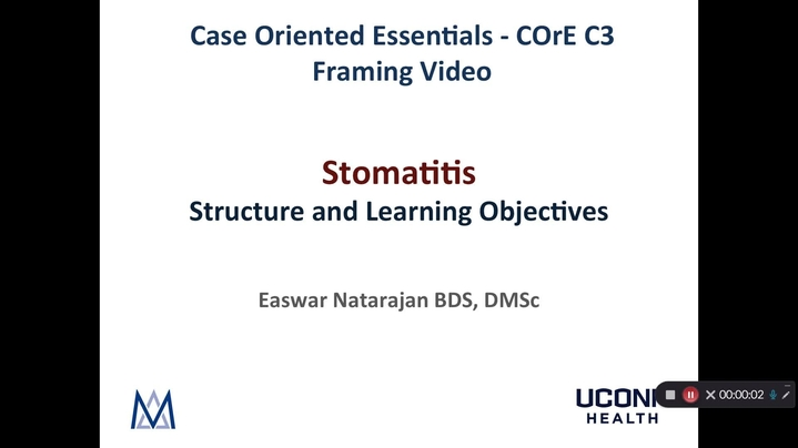 Thumbnail for channel COrE C Modules Framing Videos - Natarajan
