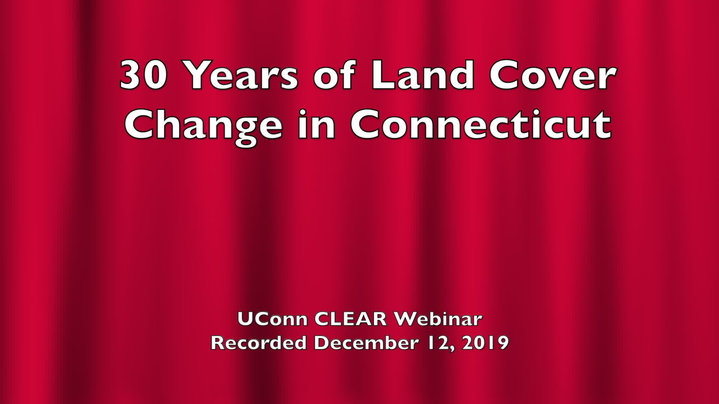 Thumbnail for channel UConn CLEAR Webinars