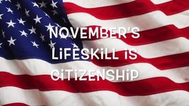 Thumbnail for entry Citizenship Lifeskill 2016