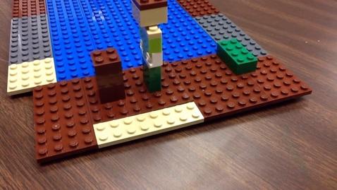 Thumbnail for entry Steve Meets Lego