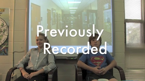 Thumbnail for entry Novembe Broadcast 1