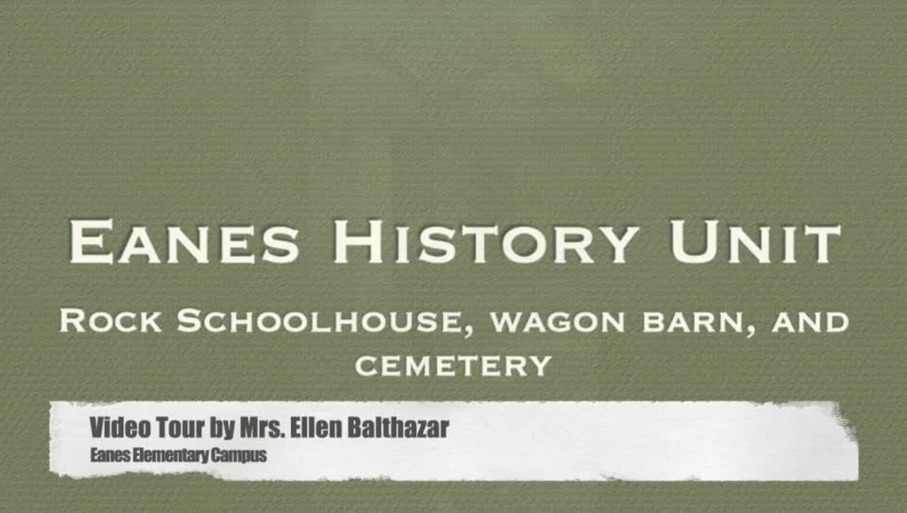 Rock Schoolhouse, Time Capsule, Wagon Barn and Cemetery