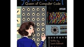 Thumbnail for entry Grace Hopper: Queen of Computer Code, by Laurie Wallmark (MPL Book Trailer #404)