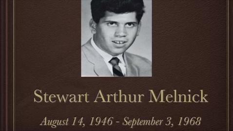 Thumbnail for entry Melnick, Stewart Arthur
