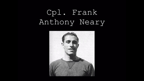 Thumbnail for entry Neary, Frank Anthony