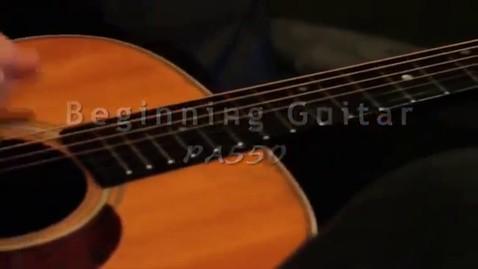 Thumbnail for entry Beginner Guitar Promo