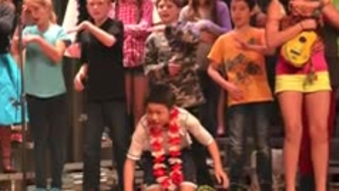 Thumbnail for entry 5th grade musical pics