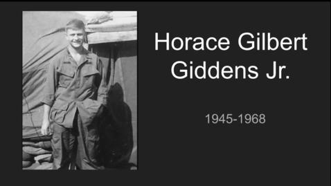Thumbnail for entry Giddens Jr, Horace Gilbert