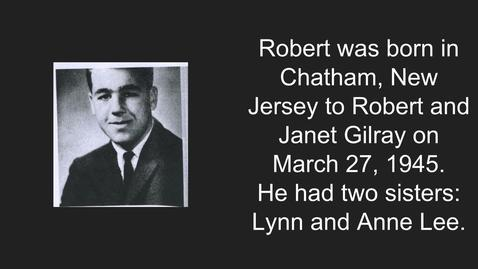 Thumbnail for entry Gilray, Robert Bruce Jr