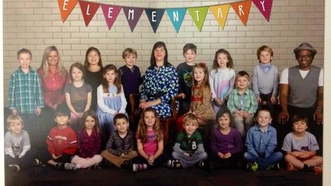 Thumbnail for entry Mrs. Carpenter's Kindergarten Class 2013-14