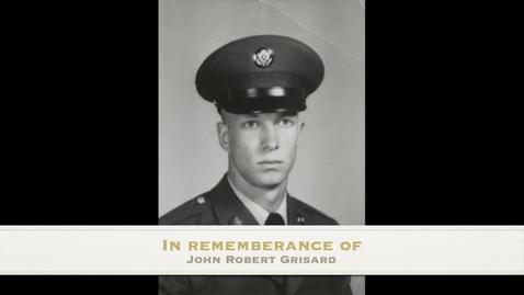 Thumbnail for entry Grisard, John Robert