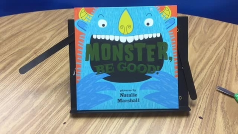 Thumbnail for entry Monster Be Good Read by Mrs. Szymczak