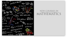 Thumbnail for entry New Math Courses