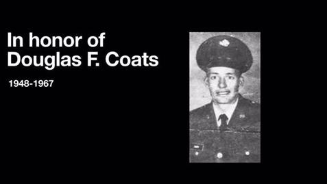 Thumbnail for entry Coats, Douglas F.