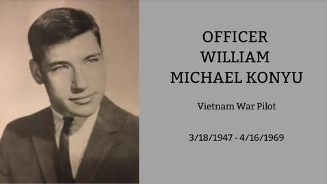 Thumbnail for entry Konyu, William Michael