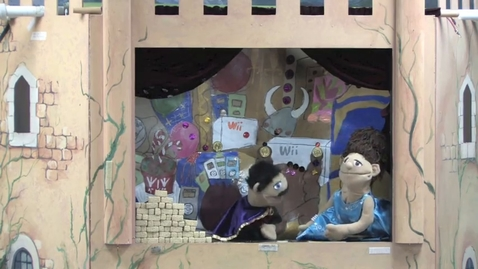 Thumbnail for entry Paper Bag Princess Puppet Show