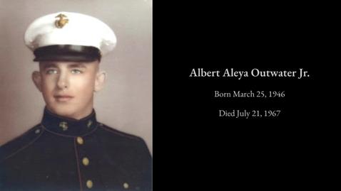 Thumbnail for entry Outwater, Albert Aleya Jr