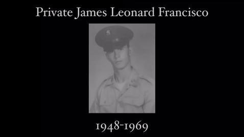 Thumbnail for entry Francisco, James Leonard