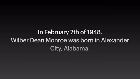 Thumbnail for entry Monroe, Wilber Dean