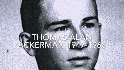 Thumbnail for entry Ackerman, Thomas Alan