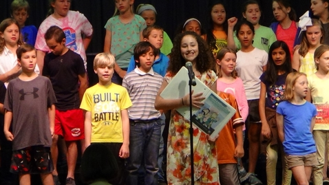 Thumbnail for entry 5th Grade Musical: Gilbert and Sullivan ROCK!