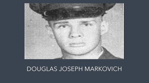 Thumbnail for entry Markovich, Douglas Joseph