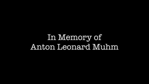 Thumbnail for entry Muhm, Anton Leonard