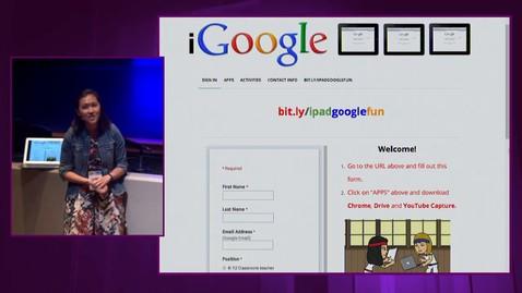 Thumbnail for entry iPadpalooza 2015 Jennie Magiera Featured Session Google Fun