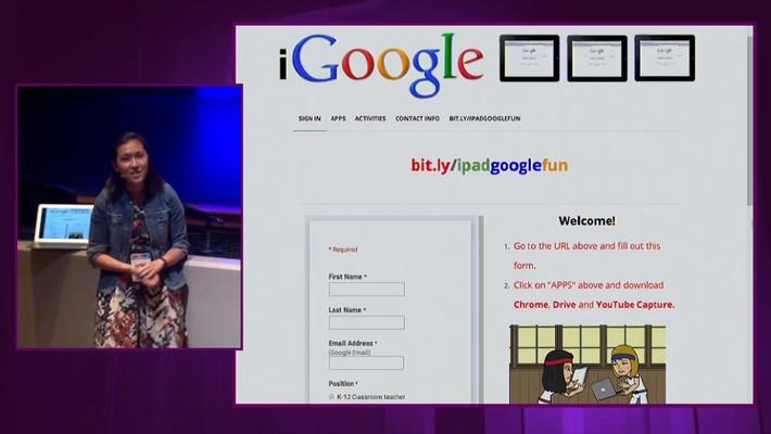 iPadpalooza 2015 Jennie Magiera Featured Session Google Fun