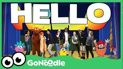 Thumbnail for entry Hola, Bonjour, HELLO! - Champiverse | GoNoodle