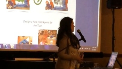 Thumbnail for entry Laura Wright presents at the teaching conference!