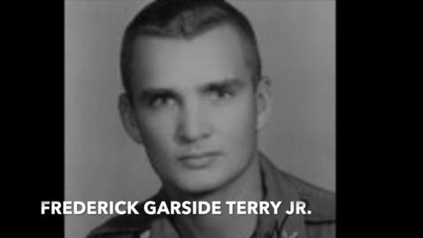 Thumbnail for entry Terry, Frederick G. Jr.