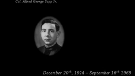 Thumbnail for entry Sapp, Alfred George Sr.