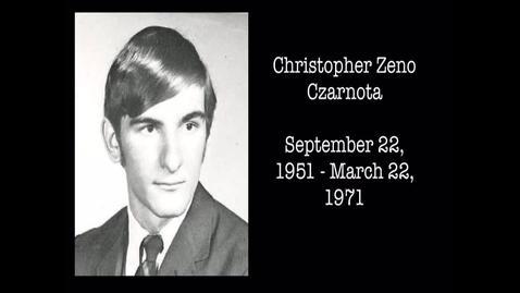 Thumbnail for entry Czarnota, Christopher Zeno