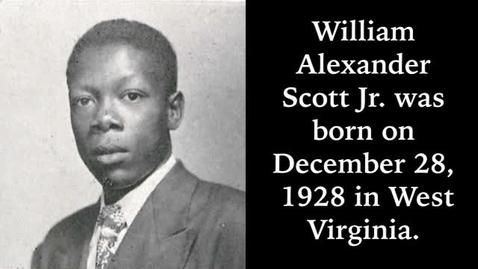 Thumbnail for entry Scott, William Alexander Jr