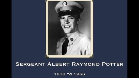 Thumbnail for entry Potter, Albert Raymond