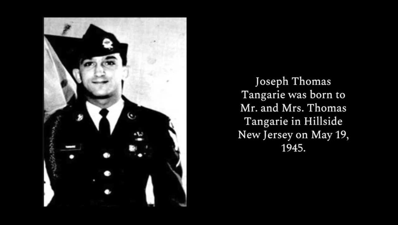 Tangarie, Joseph T.