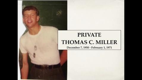 Thumbnail for entry Miller, Thomas C