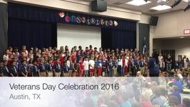 Thumbnail for entry Veterans Day Celebration 2016